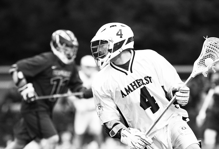 Cole Cherney '12 scored the game-winning goal against Wesleyan, capping a three-