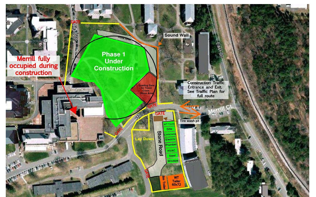Campus Construction Complicates Room Draw Plans The